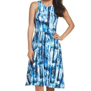 Felicity & Coco Kaley Print Fit and Flare Dress